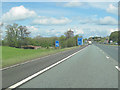 NY4351 : Junction 42 M6 northbound by John Firth
