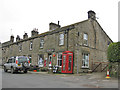 SE0263 : Post Office, shop and K6 phonebox, Hebden by Pauline Eccles