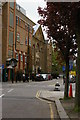 TQ3482 : Mansford Street, E2: school, Unitarian chapel and manse by Christopher Hilton