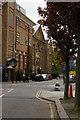 TQ3482 : Mansford Street, E2: school, Unitarian chapel and manse by Christopher Hilton
