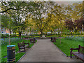TQ2982 : Tavistock Square Gardens by David Dixon