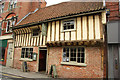 Formerly The Woolpack on Stodman Street, a dramatic and fantastic transformation of a late 15th century Wealden House (minus the left-hand bays) to the popular and excellent Prince Rupert http://www.theprincerupert.co.uk/