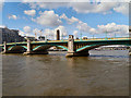 TQ3280 : River Thames, Southwark Bridge by David Dixon