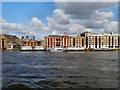 TQ3479 : River Thames, Wapping by David Dixon