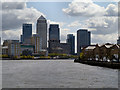 TQ3780 : Canary Wharf by David Dixon