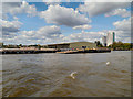 TQ3778 : River Thames, Deptford by David Dixon