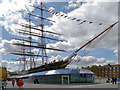 TQ3877 : The Cutty Sark at Greenwich by David Dixon