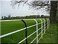 SJ7874 : 'Estate fencing' at Fourlane-ends by Christine Johnstone