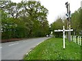 SJ7874 : Signpost, Stocks Lane, Fourlane-ends by Christine Johnstone
