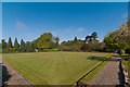 TQ2550 : Churchfields Bowls Club by Ian Capper