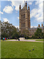 TQ3079 : Victoria Tower Gardens by David Dixon