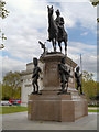 TQ2879 : Hyde Park Corner, Duke of Wellington's Statue by David Dixon