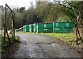 SS8491 : Recycling area near Maesteg Sports Centre by John Grayson