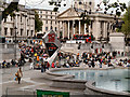 TQ2980 : Trafalgar Square by David Dixon