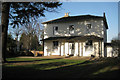 SP3165 : Regency villa, west end of Avenue Road by Robin Stott