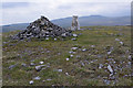 SD7871 : Trig point and cairn, Moughton by Ian Taylor