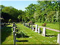 TQ5899 : Graveyard, Doddinghurst by Robin Webster