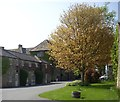 NZ1818 : Courtyard at Headlam Hall by Stanley Howe
