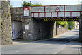 SD7428 : The Bridge at Church and Oswaldtwistle Station by David Dixon