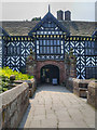 SJ4182 : Speke Hall, Entrance and North Range by David Dixon
