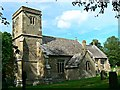 SU0268 : South elevation, Church of St Mary, Calstone Wellington by Brian Robert Marshall
