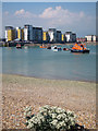 TQ6401 : RNLB Golden Jubilee arrives at Sovereign Harbour by Oast House Archive