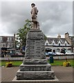 NJ7721 : Inverurie War Memorial (east) by Bob Embleton