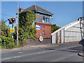 SJ6086 : Control Cabin, Chester Road Swingbridge by David Dixon
