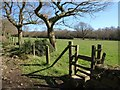 SE2064 : Stile by the Nidderdale Way by Derek Harper