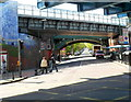 TQ2484 : Three railway bridges, Christchurch Avenue, Kilburn by John Grayson