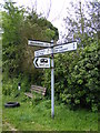TM5188 : Roadsign on Church Road by Adrian Cable