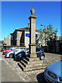NS9746 : Carnwath Mercat Cross by Mary and Angus Hogg