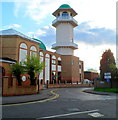 TQ2384 : Minaret, Central Mosque Of Brent, Willesden Green London NW2 by John Grayson