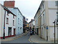 SO0428 : Castle Street, Brecon by John Grayson