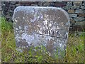 SK2877 : Milestone on B6054 near Owler Bar by Andrew H