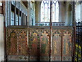 TF6841 : Rood screen in St. Mary's church, Old Hunstanton by pam fray