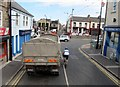 J3014 : Approaching the cross roads at the centre of Kilkeel by Eric Jones