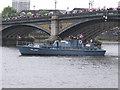 TQ2777 : Diamond Jubilee Pageant - ML137 HMS Medusa by David Hawgood