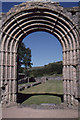 SN7465 : Strata Florida abbey: west door by Christopher Hilton