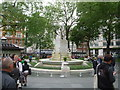 TQ2980 : London: Shakespeare statue in Leicester Square by Chris Downer