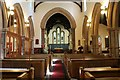 SE9605 : Interior, St Hybald's church, Scawby by J.Hannan-Briggs