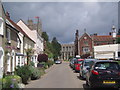 TL8646 : Church Walk, Long Melford by b davies