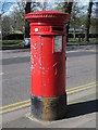 TQ3104 : Victorian postbox, Lewes Road, BN1 by Mike Quinn