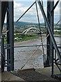 ST3186 : Newport City Bridge viewed from the Transporter Bridge by Robin Drayton