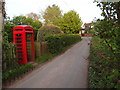 SJ6541 : Coxbank Red Telephone Box by Ian Paterson