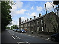 SE0411 : Houses on Manchester Road, Marsden by Ian S