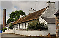 J5371 : Thatched cottage, Cunningburn near Newtownards by Albert Bridge