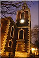 TQ3579 : Spire, Church of St Mary, Rotherhithe by Nigel Chadwick
