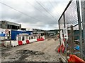SJ9894 : Tesco Extra under construction by Gerald England