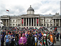 TQ3080 : Jesus Army gathering, Trafalgar Square: 2 by Robin Stott